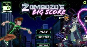Ben 10 Zombozo Big Score