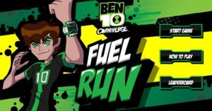 Ben 10 Fuel Run