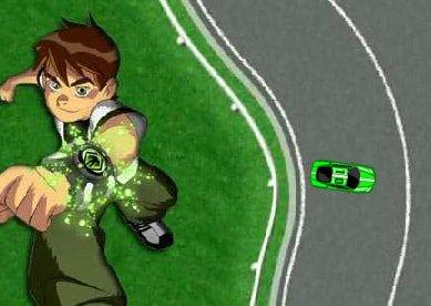 Ben 10 Racing Game